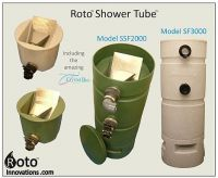 Roto Shower Tube with Sieve